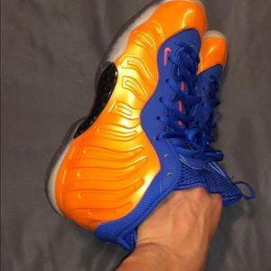 Jordan Shoes - Knicks Foamposite Lilposite Boys Grade School